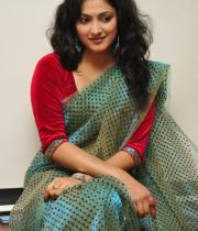 haripriya-saree-stills-at-acam-platinum-disc-2