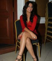isha-chawla-latest-hot-photos-in-red-dress-2