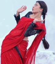 Kajal Agarwal Latest Hot Navel Stills in Telugu Movie Baadshah, Baadshah Kajal Hot Navel Show Stills in Saree