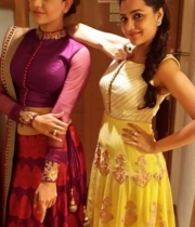 Kajal Agarwal and Nisha Agarwal Photos Stills