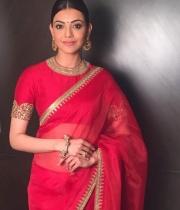 Kajal-Aggarwal-Stuns-People-with-Red-colour-Dress_6