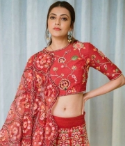Kajal-Aggarwal-Stuns-People-with-Red-colour-Dress_9