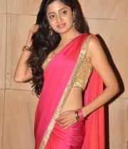Poonam Kaur Hot Saree Stills At Aadu Magaadra Bujji Audio Release