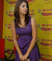 richa-gangopadhyay-radio-mirchi-for-sarocharu-audio-launch-11
