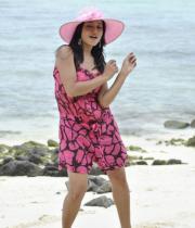 Telugu Actress Reetu Hot Stills in Beach