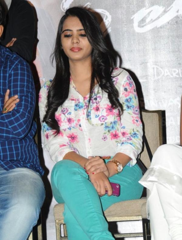 Actress Manasa Photos at Romance Press Meet