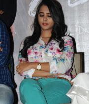 Telugu Actress Manasa Photos at Romance Press Meet