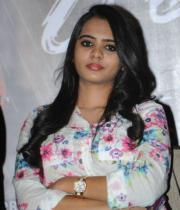 Telugu Actress Manasa Photos at Romance Movie Press Meet