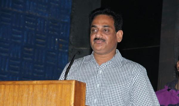 T.Ramesh at Samar Movie Audio Launch Stills
