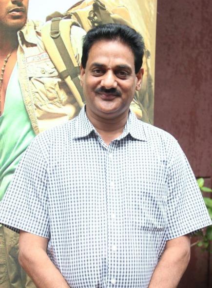 Balaji Real Media T.Ramesh at Samar Audio Launch Stills