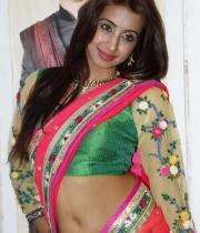 sanjana-hot-navel-show-in-half-saree-01