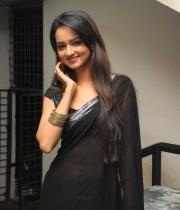 shanvi-hot-in-black-saree-photos-21