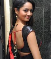 shanvi-hot-in-black-saree-photos-23