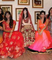 models-pose-during-the-launch-of-summer-wedding-line-at-sasya