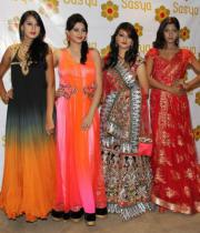 models-pose-during-the-launch-of-summer-wedding-line-at-sasya2
