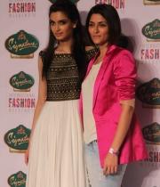 Diana Penty walks for Drashta Sarvaiya at Signature International Fashion Weekend
