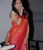 Singer Sunitha Photos in saree At April Fool Audio release