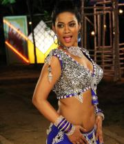 Mumaith Khan Hot Item Song Pics in Arya Surya Movie