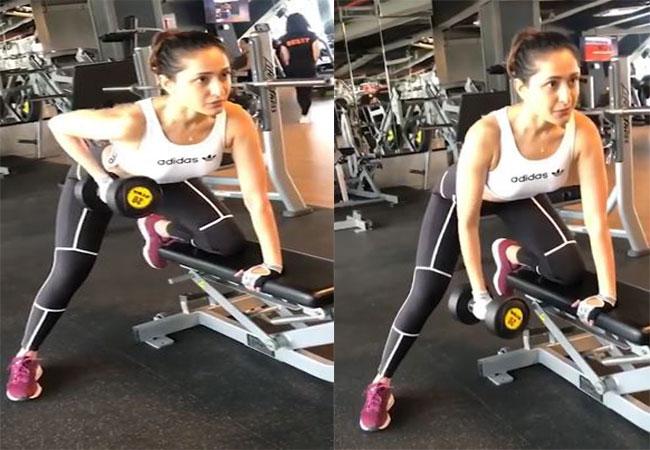 Pragya Jaiswal Gym Video Goes viral