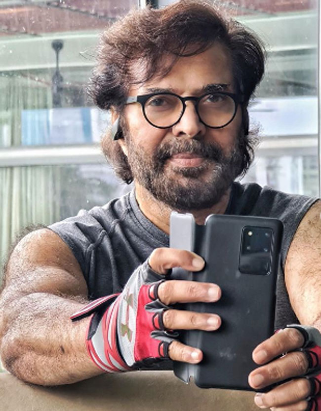 Mammootty Post Workout Selfies Goes Viral