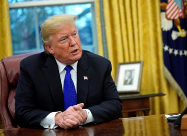 Trump indicates banning Alibaba